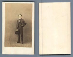 Jeune-collegien-CDV-vintage-albumen-carte-de-visite-Tirage-albumine-6-5x10