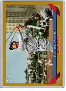 Bobby-Doerr-2019-Topps-Archives-5x7-Gold-247-10-Red-Sox