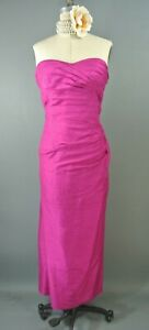 Phoebe-Couture-Hot-Pink-Silk-Formal-Dress-12-Strapless-Full-Length-Gown-1008