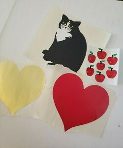 1 Strip VINTAGE VERY RARE Stickers Mrs Grossman MAGICAL GIFTS Reflections