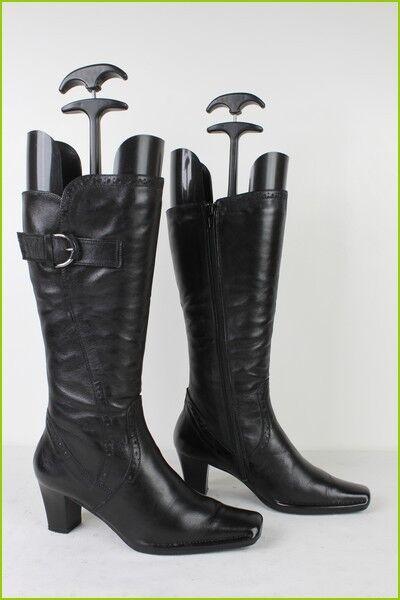 Bottes Confort BINOME Cuir black T 36 TBE