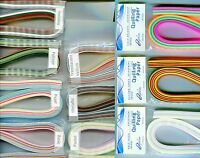 """Quilling Paper MULTI COLORED Packs Many ASSORTMENTS To Choose From 3/8"""" Wide"""