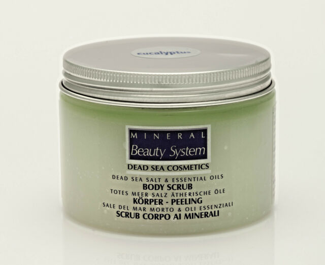 [53,-€/1KG] Totes Meersalz & ätherische Öle Mineralien Öl Massage Peeling 300gr