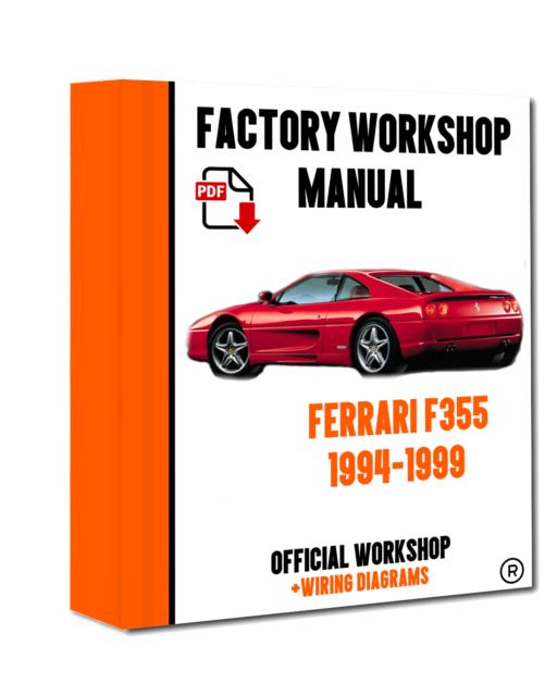 Official Workshop Manual Service Repair Ferrari F355 1994 1999 Ebayrhebay: Ferrari 355 Wiring Diagram At Gmaili.net