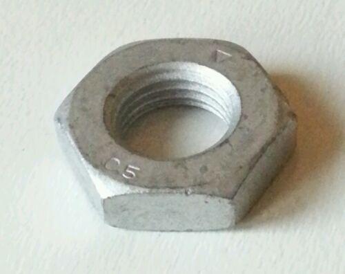 M14-1.5 Hex Jam Nut Galvanized