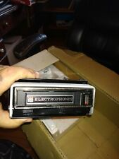 Electrophonic Removable 8 Track Car Stereo With Speakers Model Tc 72 A New Rare