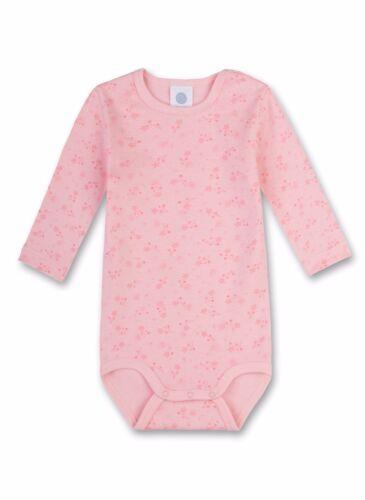 sanetta  Gr BABY-BODY 80-104 Langarm Sterne,rosa v