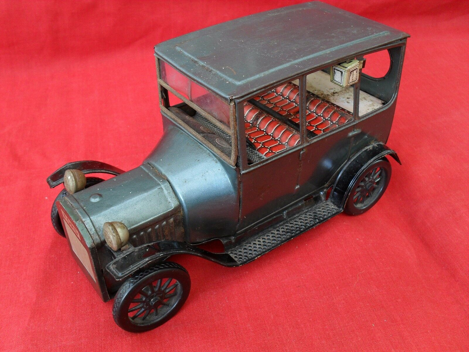 VINTAGE FRICTION DRIVE FORD MODEL  T.  by BANDI  JAPAN  1960s