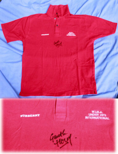 WELSH INDOOR BOWLING ASSOCIATION UNDER 25s INTERNATIONAL POLO SHIRT SIZE L