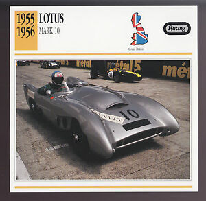 1955 1956 lotus mark 10 aluminum body race car photo spec for Atlas car aluminium