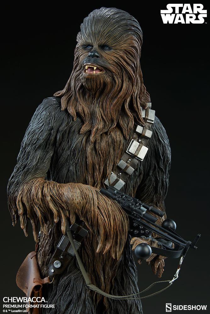 Star wars iv  anh - chewbacca - premium format figur    misb le-1500...