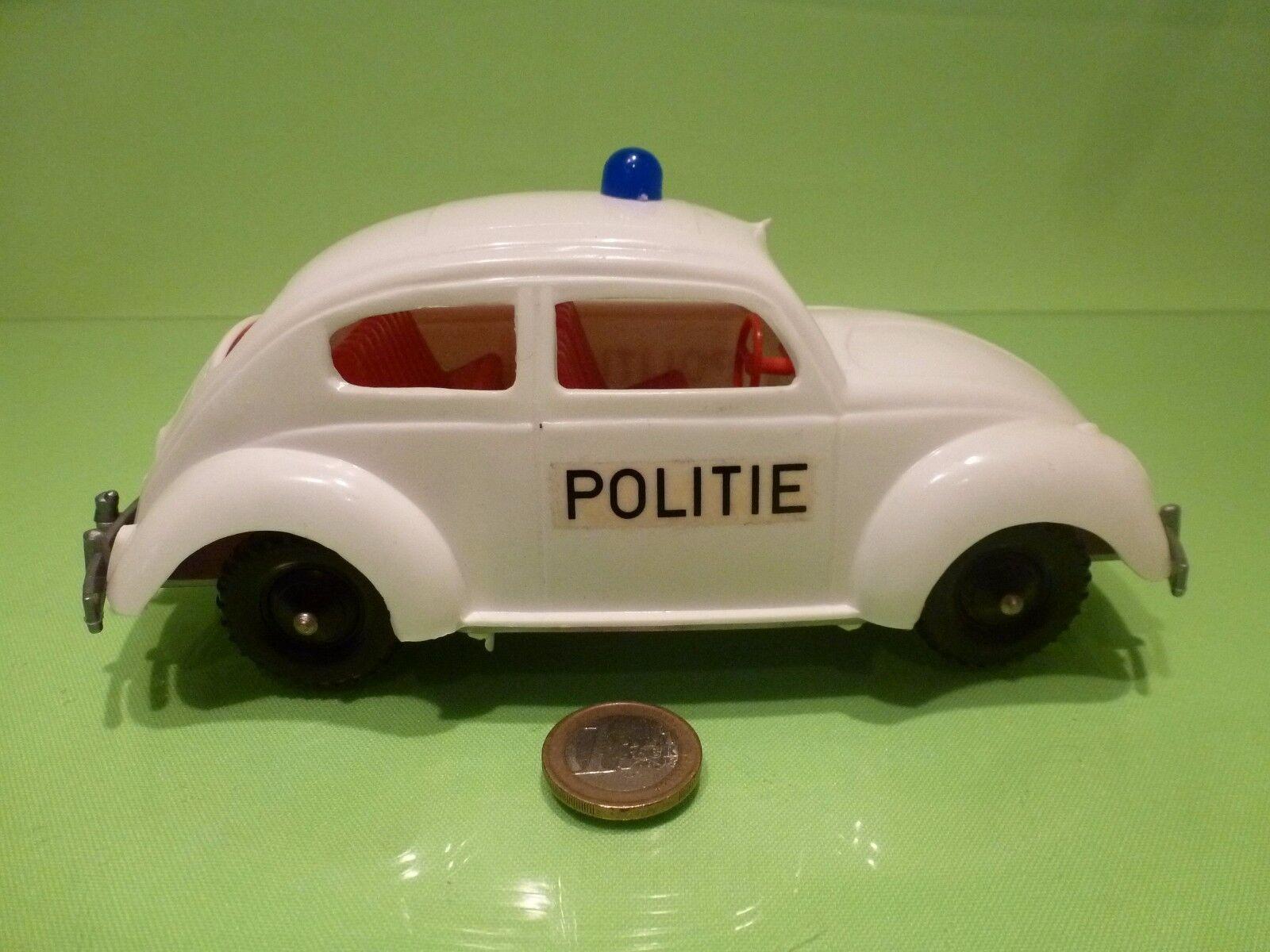 PLASTIC VINTAGE USA USA USA GERMANY VW VOLKSWAGEN BEETLE - POLICE POLITIE - L19.5cm RARE f4834e