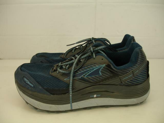 Altra Womens 10 M Olympus 2.5 Zero Drop Trail Running shoes Navy bluee AFW1759F-4