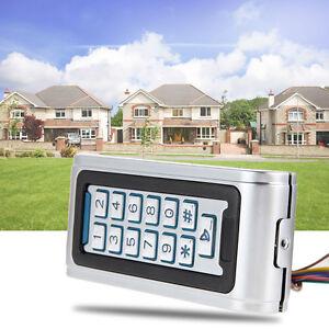 Door Access Control Controller Metal Password Keypad RFID Card Non Waterproof