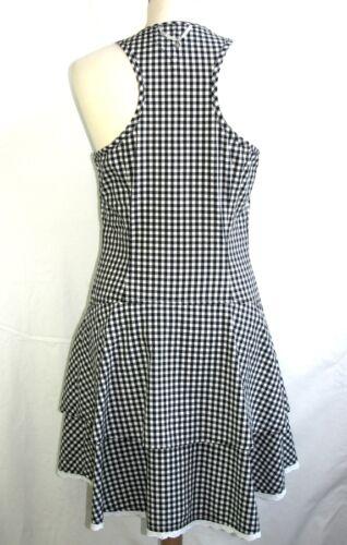 Tb Etat Coton Noir Robe Hilfiger Féminine M Vichy amp; Blanc Taille 38 Denim tXww7P