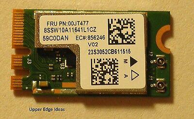 Lenovo Fru 00JT477 NGFF Wireless Card Atheros QCNFA345 2x2AC Bluetooth BT4.0