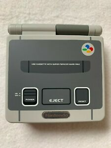 Nintendo-GameBoy-Advance-SP-Console-Super-Famicom-Color-SFC-Refurbished