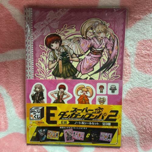 SUPER DANGANRONPA 2 Note /& Sticker Set Everyone/'s Lottery Prize E F//S