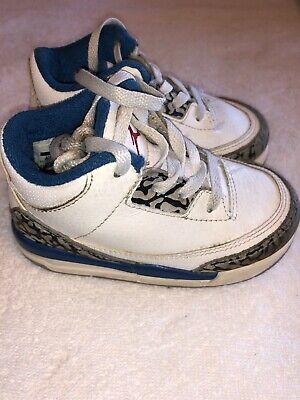 Air Jordan 3 Retro White / True Blue