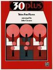 30 Plus Trios for Flute by Alfred Music (Paperback / softback, 1985)