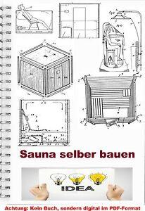 Sauna Bauen Sauna Technik Uber 690 Bauplane Sweatbath Patentsammlung