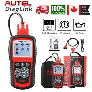 Autel Diaglink OBD2 Scanner Fault code Reader OBDII Car Diagnostic Scan ABS SRS