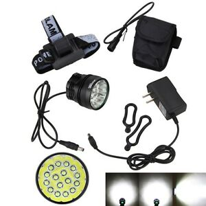 60000 Lm 16x XML T6 LED 3 Modes Bike Light Cycling Bicycle Lamp Torch Headlight