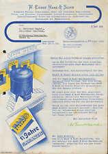 NEUHOFFNUNGSHÜTTE bei Sinn, Brief Juni 1935, Herd- u. Ofen-Fabrik Haas & Sohn