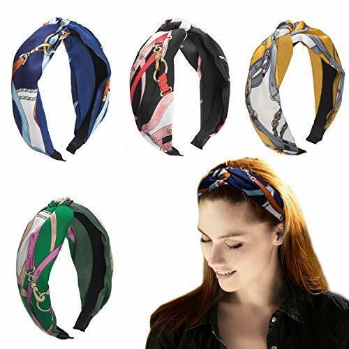Headband 04026045 Fascia per Capelli Stile Retro styleBREAKER Cerchietto per Capelli da Donna Intrecciato