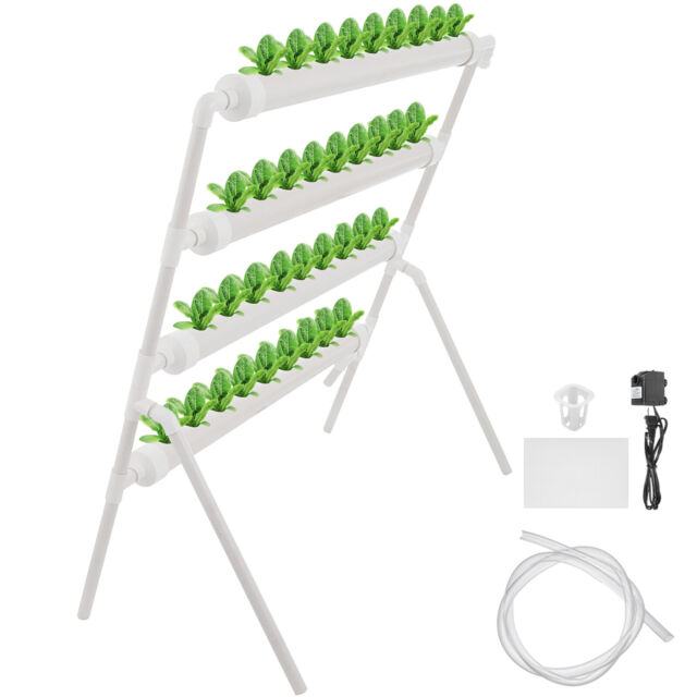 Hydroponic Site Grow Kit 36 Planting Sites Garden Plant System Vegetable Tool