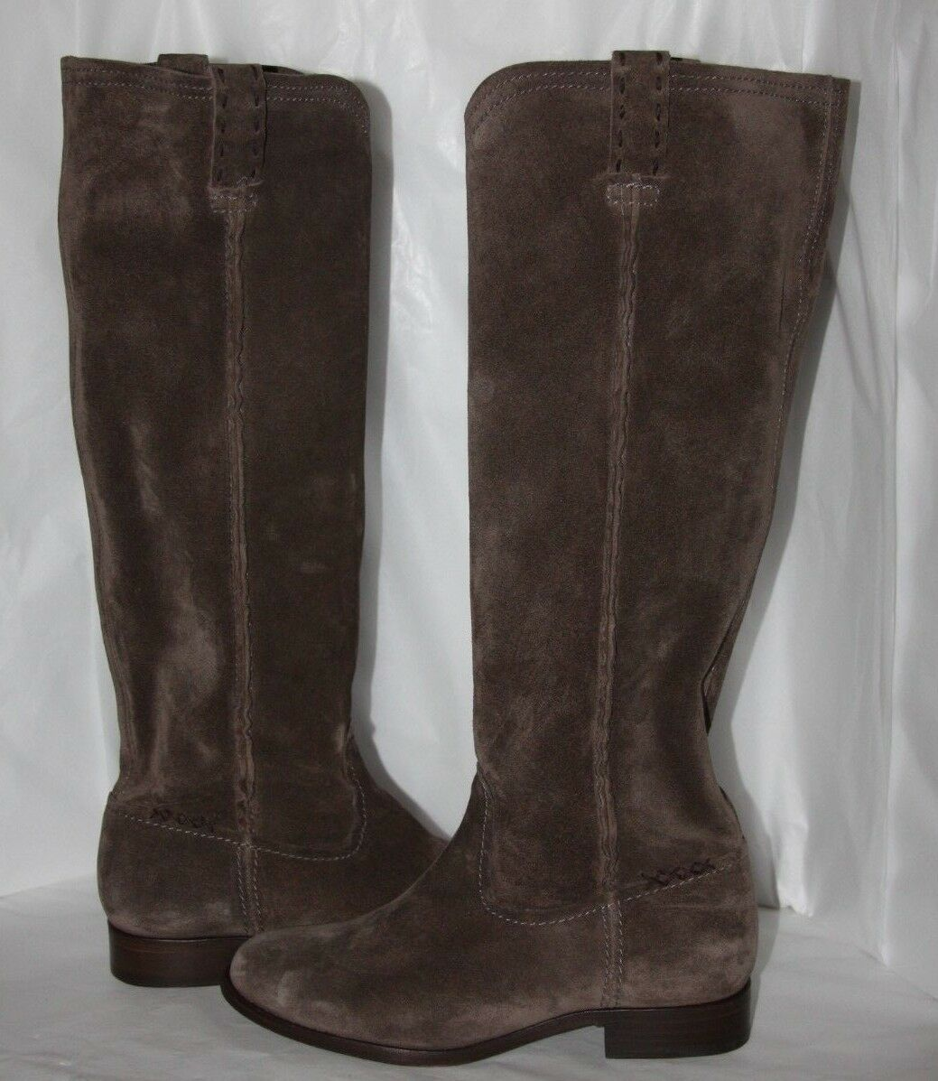 Frye Cara Tall Elephant size oiled suede Stiefel women's size Elephant 6.5 b  Retail 378.00 ab594d