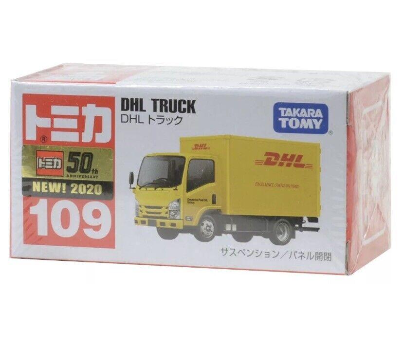 Tomica No.109 Isuzu ELF DHL Truck Takara Tomy