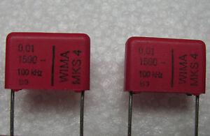 25-Wima-01-Uf-1500-V-1-5-kV-10-Mks4-poliester-capacitores-de-amplificadores-de-tubo