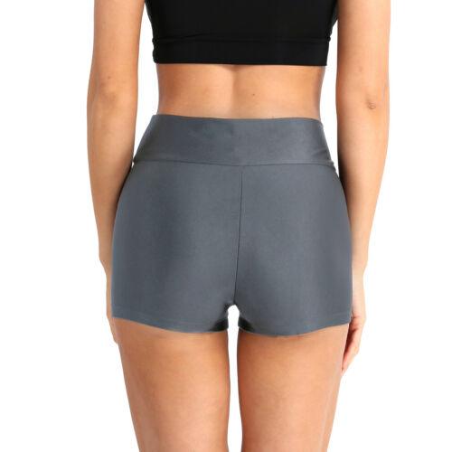 Damen Fitness Yoga Shorts Kurz Hot Pants Sportshorts Radlerhose Trainingshose