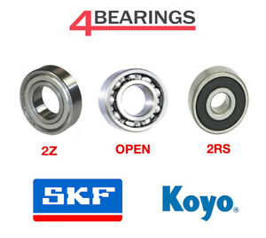 SKF Genuine Deep Groove Ball Bearing 6300 Series 2RS ZZ 2Z Open Choose Size