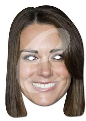 2019 Ultimo Disegno Kate Middleton Celebrità Di Cartone Maschera-di Alta Qualità Lucentezza Scatola, Buchi Occhi-mostra Il Titolo Originale