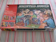 VINTAGE HAUNTED HOUSE BOARD GAME - Denys Fisher incomplete