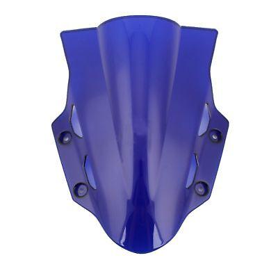 Noir) Moto Pare-Brise /écran ABS Shield Pour Kawasaki ER6F 2006-2008