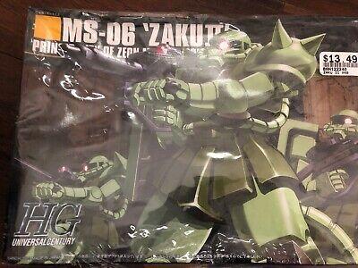 "Bandai Hobby HGUC 1//144 #40 ZAKU II /""MOBILE SUIT GUNDAM/"" Kit Modello"