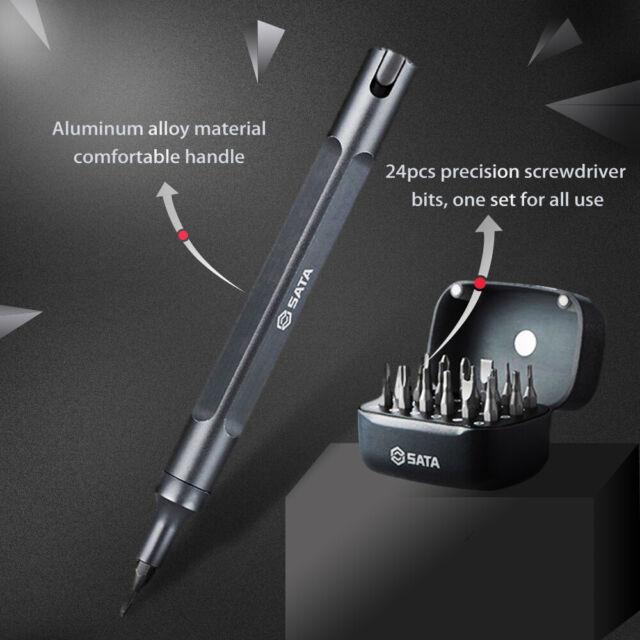SATA 25pcs Pen Screwdriver Kits Magnetic Multi-Bits Repair Tool Set 05108