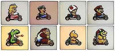 **~ Super Mario World Coasters pixel decorations hama ~**