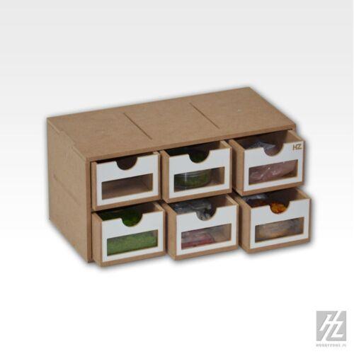 Drawers módulos x 6 Hobbyzone MWS schubkasten módulo X 6 nuevo om01a