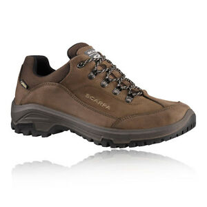 47cbbae9a8a Scarpa Cyrus Mens Brown Water Resistant Gore Tex Walking Hiking ...