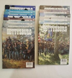 The-Gettysburg-Magazine-14-issues-CIVIL-WAR-History-Issues-15-28-Very-Good