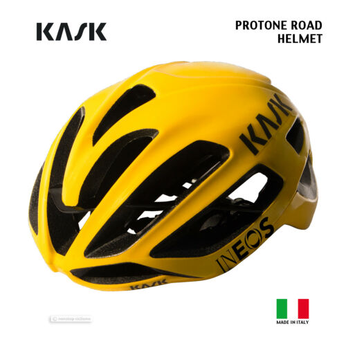 NEW 2020 Kask PROTONE Road Cycling Helmet TEAM INEOS TOUR DE FRANCE YELLOW