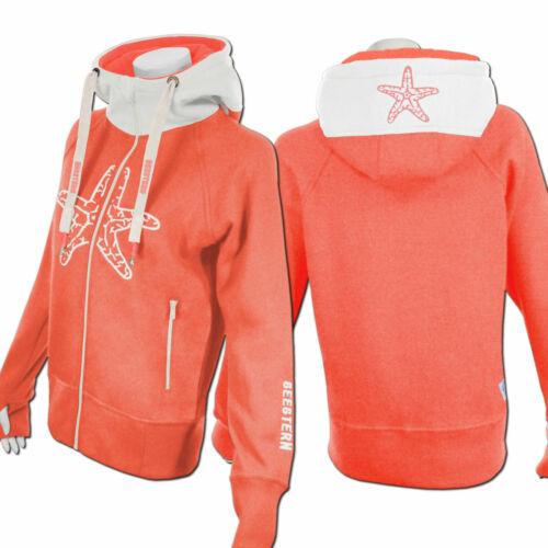 Etoile de Mer Femmes Capuche Sweat Shirt Veste Pull Zip Hoody Sweater Taille xs-3xl