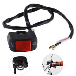 Motorbike ON//OFF Button Connector push button switch Motorcycle Switches Z~$$