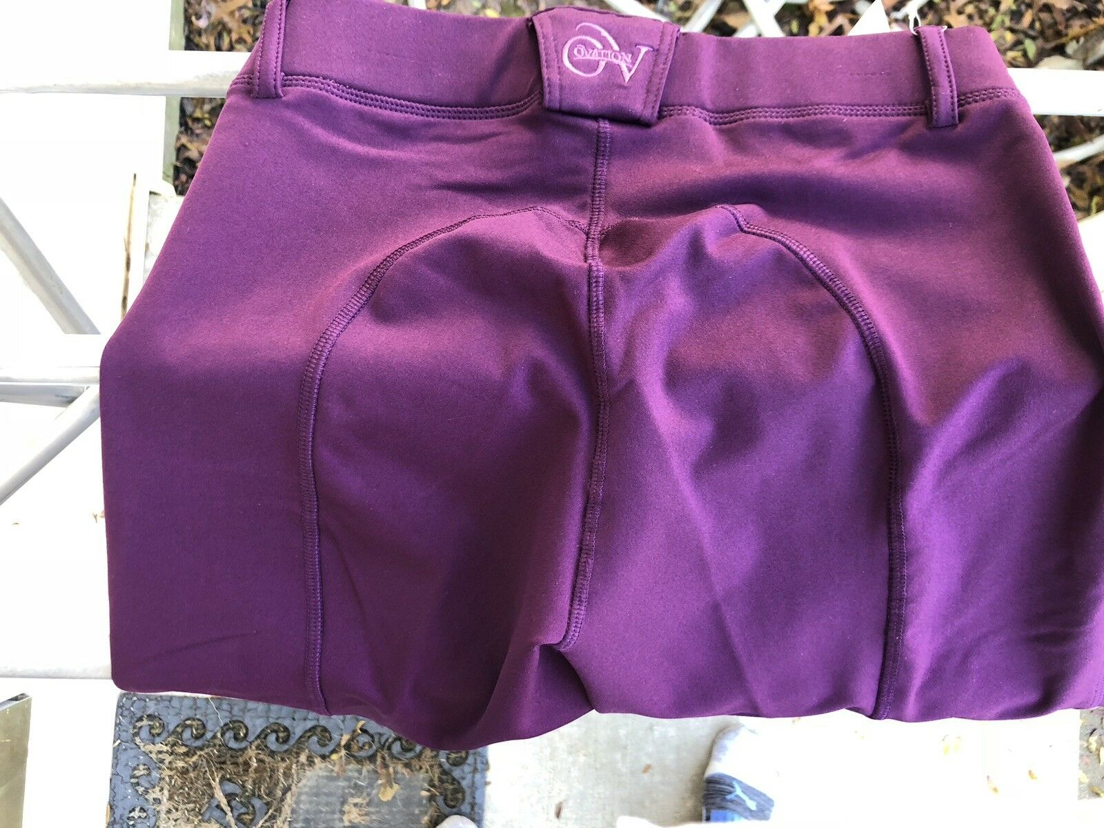 NEW Ovation Equinox 3 season breeches, ladies  26 Wine  free delivery and returns