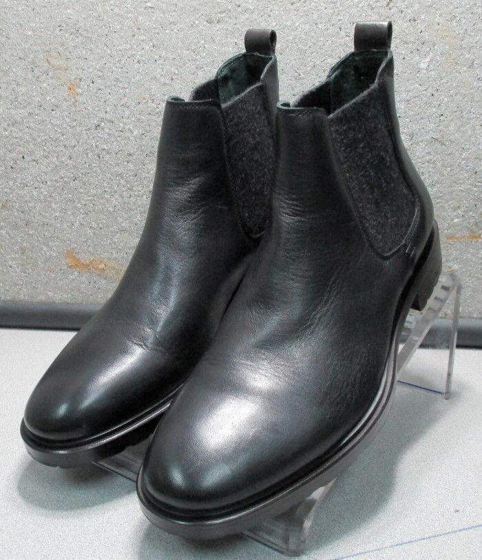 271501 PFBT40 Men's Shoes 9 M Black Leather 1850 Series Boots Johnston Murphy