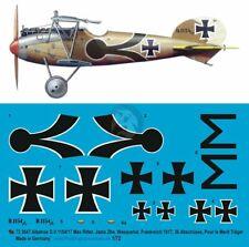 Peddinghaus Decals 72 3665 Jasta 5 1//72 WW I Josef Mai Albatros D.V